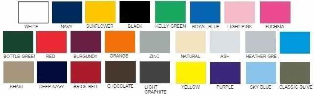 alle-fruit-of-the-loom-tshirt-kleuren