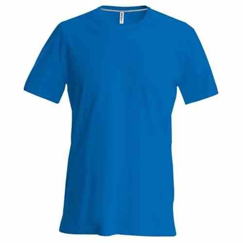 V T Hals Heren Blauw Kobalt Shirt Kariban znqBPOaUwn