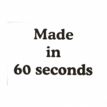 Made in 60 sec Baby t-shirt