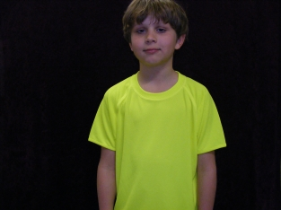 Dry Fit Fluor shirt - geel
