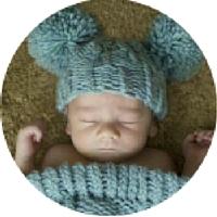 baby met mickey oren als voorbeeld bedrukking